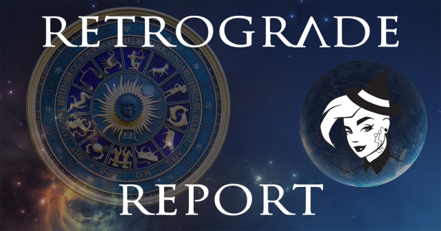 Retrograde Report for 22 May, 2021