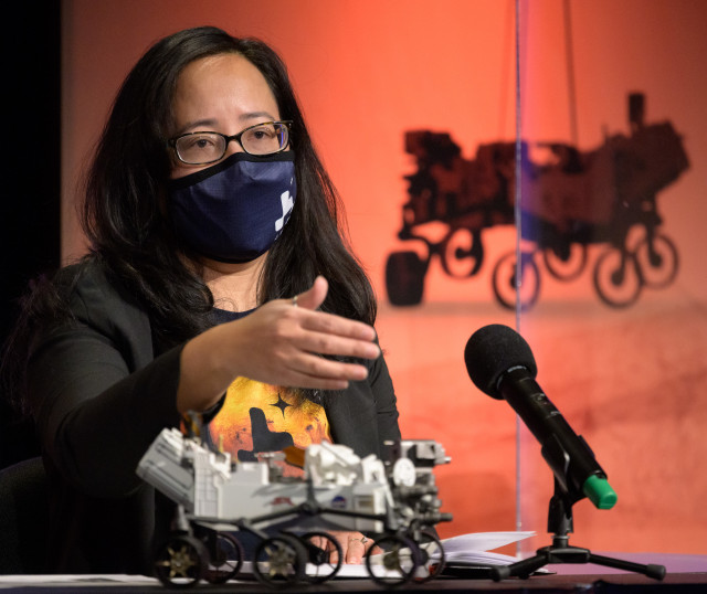 Mars Perseverance Surface Operations Manager Pauline Hwang