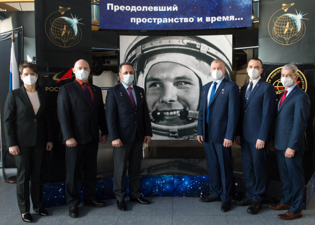 Expedition 65 Crew Press Conference