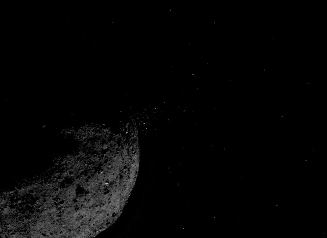 Touching Down on Asteroid Bennu