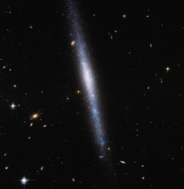 Hubble Catches a Cosmic Cascade