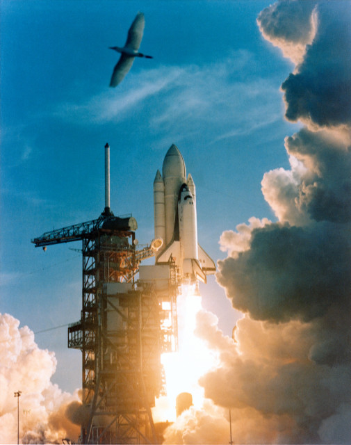 STS-1 Takes Flight