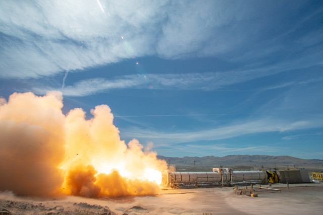 Booster Test for Future Space Launch System Flights